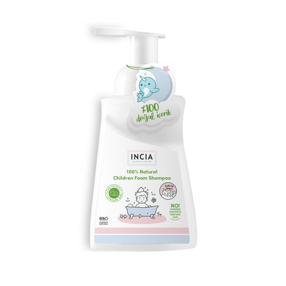 Çocuklar İçin Doğal Köpük Şampuanı Saç ve Vücut İçin 200 ml