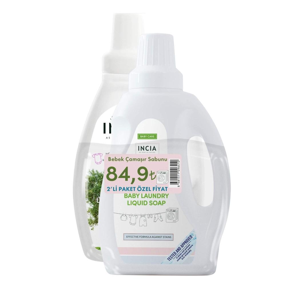 Doğal Baby Çamaşır Sabunu Avantajlı Set 2X 750 ml