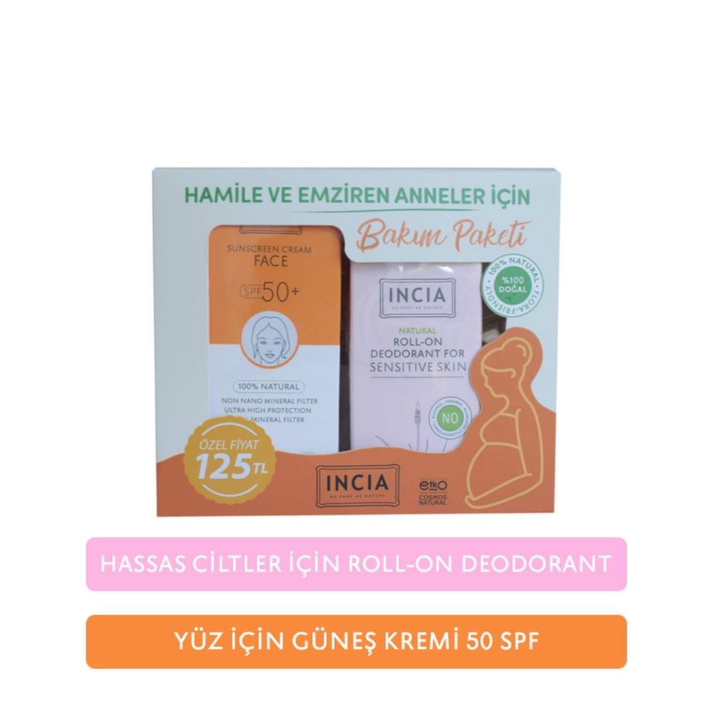 Hamile ve Emziren Anneler için Doğal Bakım Paketi