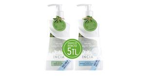 INCIA - Yoğun Nemlendirici Sabun 250ml + Zeytinyağlı Sıvı Sabun 250ml