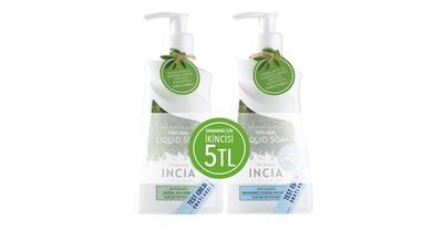 Yoğun Nemlendirici Sabun 250ml + Zeytinyağlı Sıvı Sabun 250ml