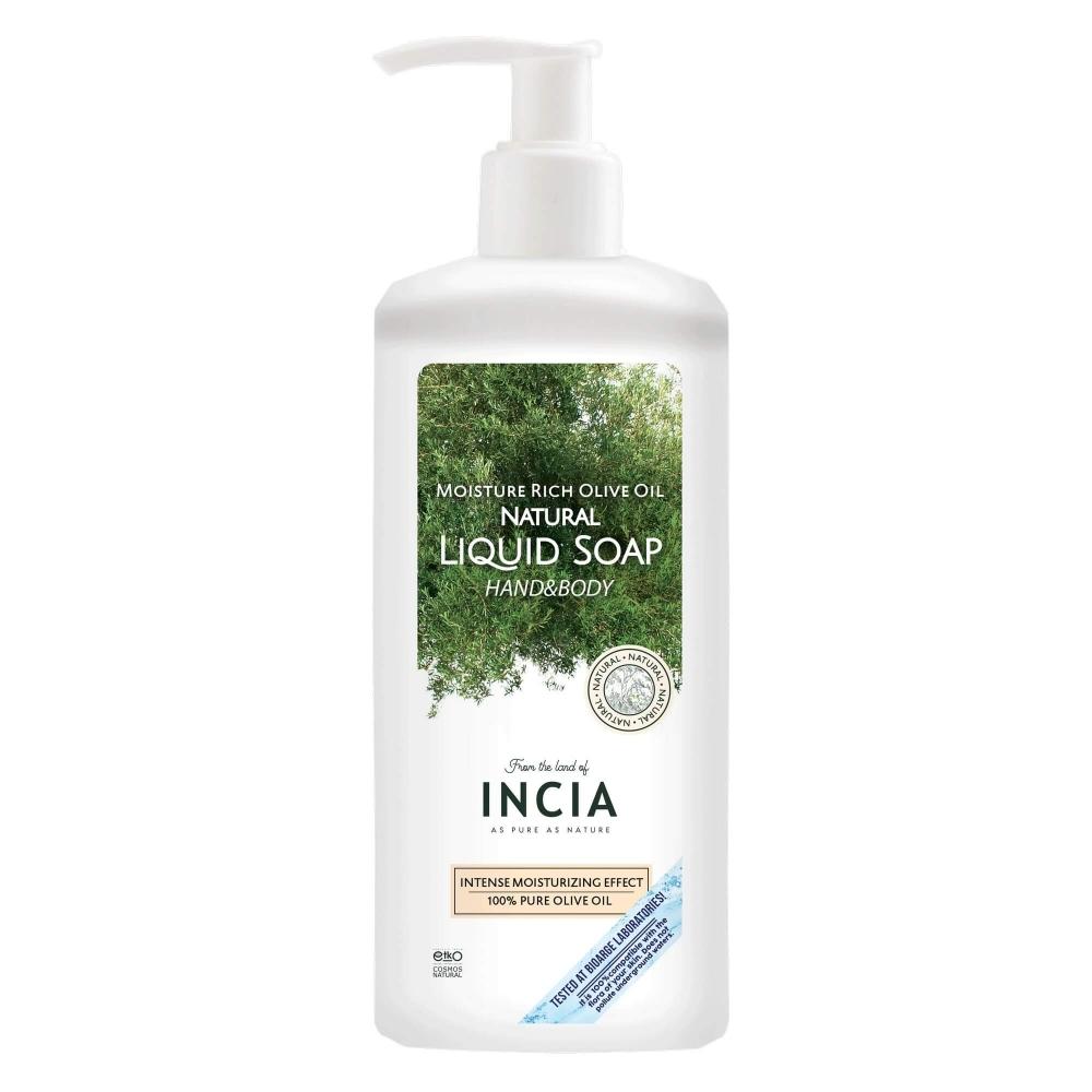 Yoğun Nemlendiricili Zeytinyağlı Doğal Sıvı Sabun 1L